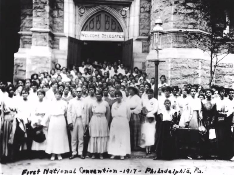 first national convention Madam C. J. Walker