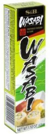 S&B Wasabi Paste - the most famous fake wasabi in the World