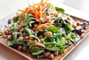 Wasabi Avocado Salad with Chickpeas