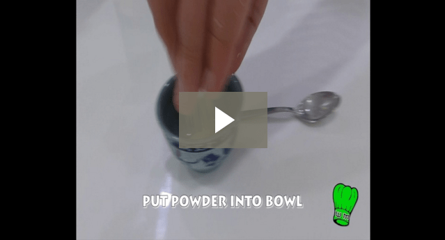 Video of how to make Wasabi Paste from Powder Wasabi correctly. No guesswork required.