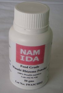 100% True Wasabi Plant Powder -Namida 100% Wasabia japonica Powder. Contains no Japanese Radioactivity.