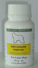 These capsules are for the larger dog. Greater than 27Kg (60 lbs). Give up to 3 capsules a day with food.
