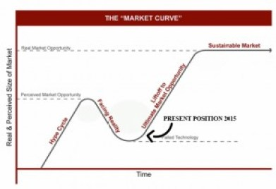 Market Curve for Wasabia japonica