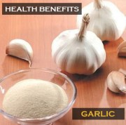 Eating garlic reduces chance of getting Lung Cancer, Studies show.