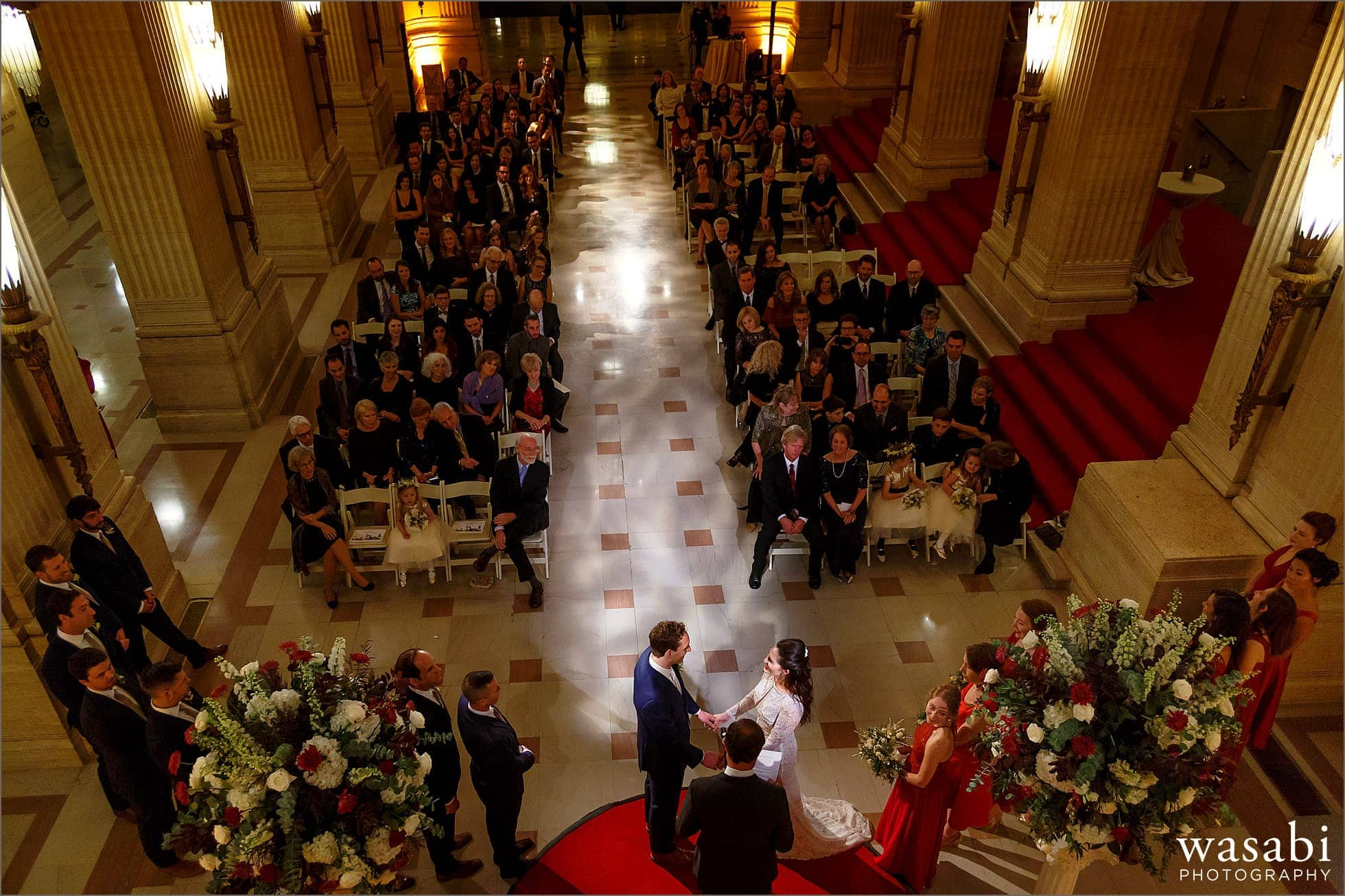 Lyric Opera House Wedding Photos Kelly  Elliott  Wasabi Photography