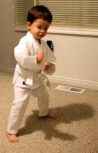 Eli's Fighting Stance