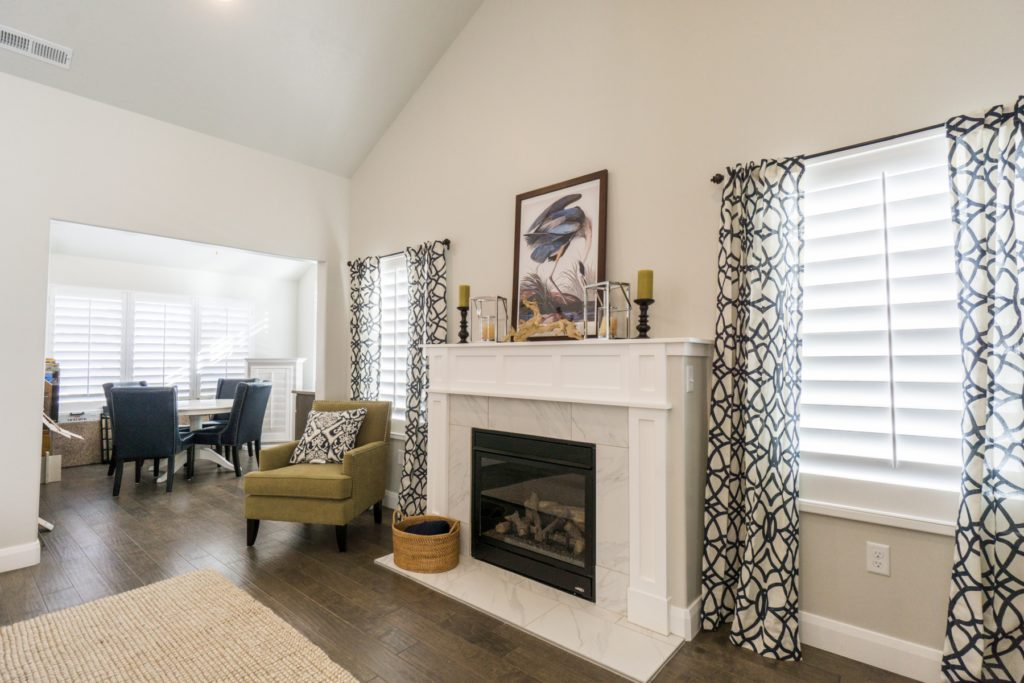 How To Pair Plantation Shutters With Curtains