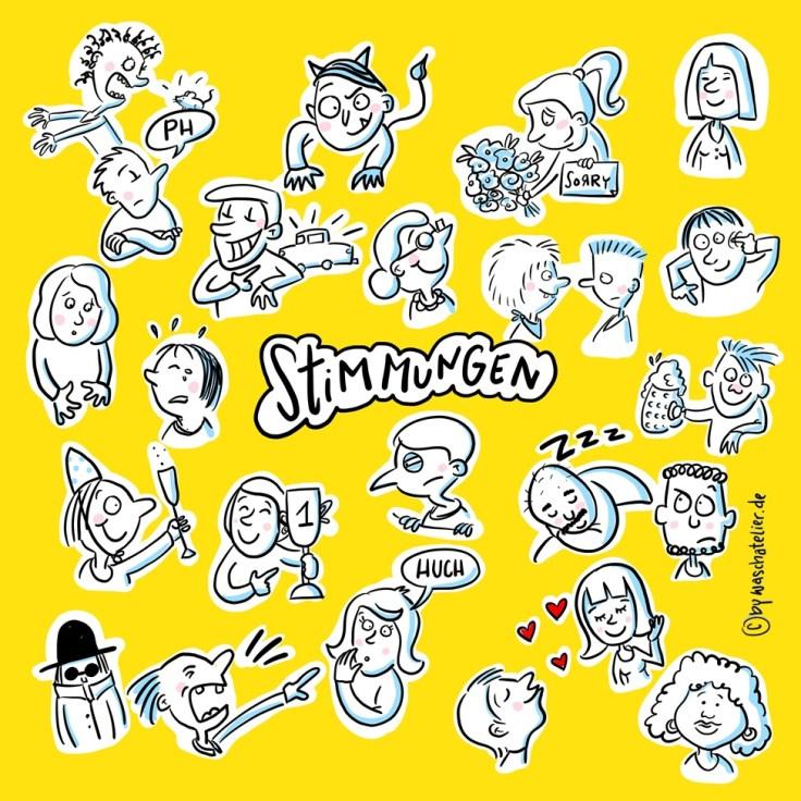 Kalenderblatt Sketchnote Kalender 2019 (mitp)