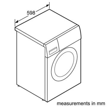 Siemens iQ300 WM14N2A0 Frontlader Waschmaschine – A+++