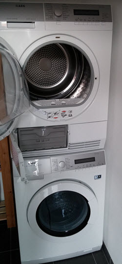 Droger Op Wasmachine Tussenstuk Ikea