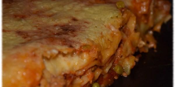 Lasagne schmeckt der ganzen Familie