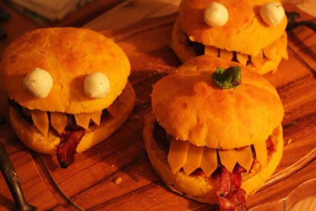 Halloween-Special Gruselburger
