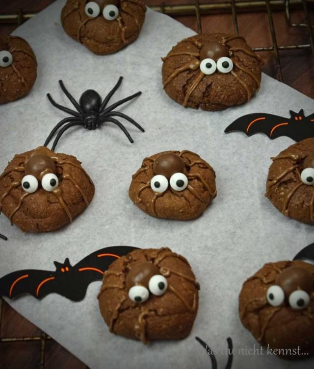 Simply Yummy Spinnenkekse Halloween-Special