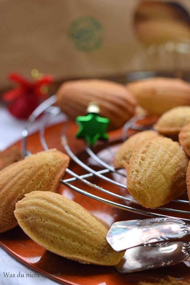 Weihnachtliche Madeleines