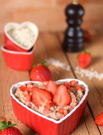 Erdbeerrisotto
