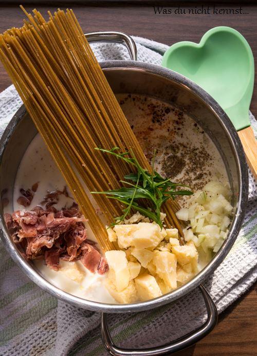 One Pot Pasta Parmesan