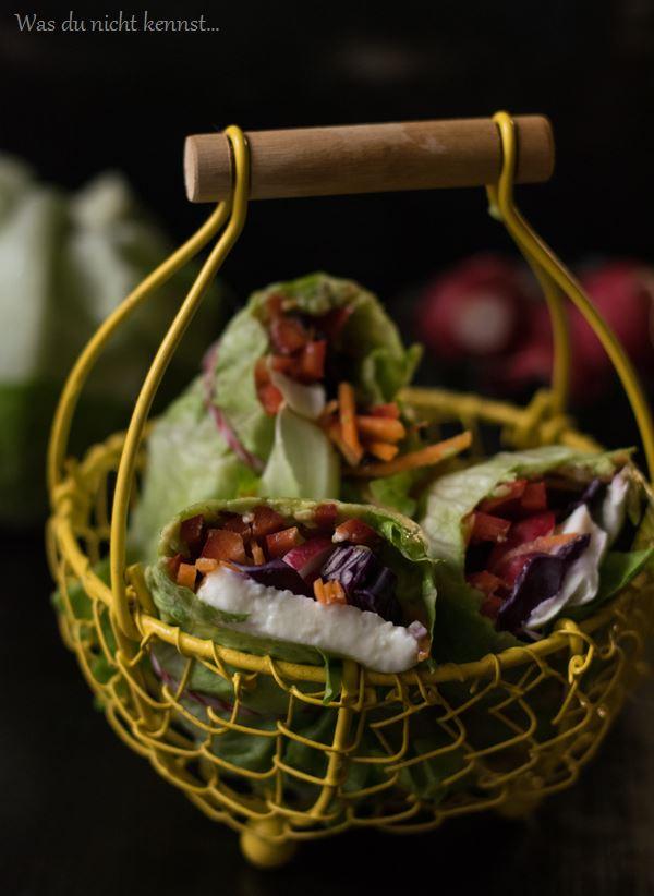 Salat-Wraps