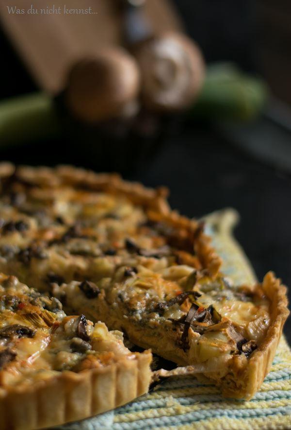 Gorgonzola-Lauch-Quiche