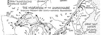 Westward Migration of Anishinabe | Formation of The Council of Three Fires