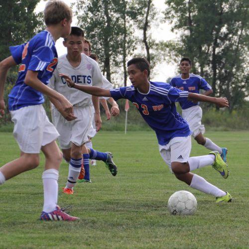 Washburn soccer player Francisco Quitero