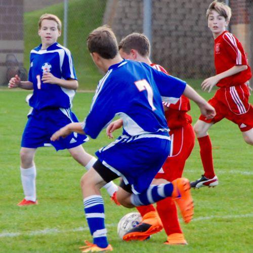 Washburn C Squad soccer against Benilde