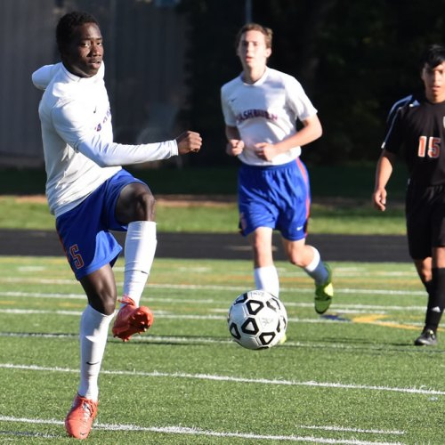 Washburn varsity soccer striker Juan Louis