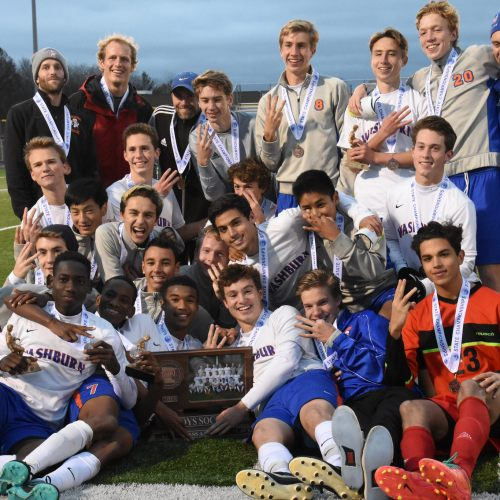 Washburn Millers varsity soccer wins Third Place in State