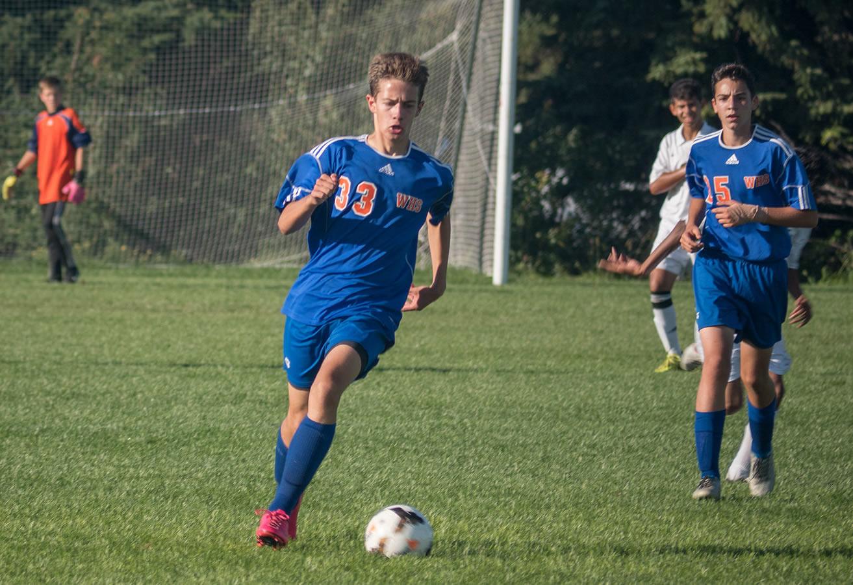 9A Washburn boy soccer against East Ridge