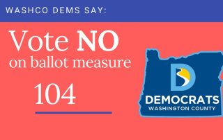 Vote no on oregon ballot measure 104
