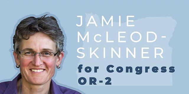 Jamie McLeod Skinner for congress OR-2