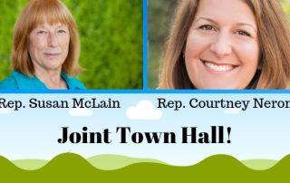 McLain Neron Joint Town Hall