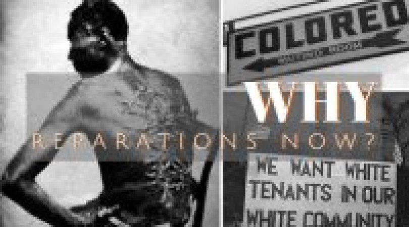 Slave with a badly scarred back, sign for colored people, sign asking for only white tenants