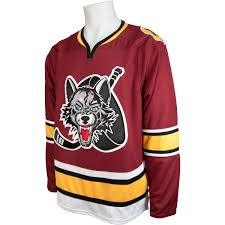 Chicago Wolves Maroon Jersey