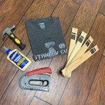 T-shirt mounting supplies