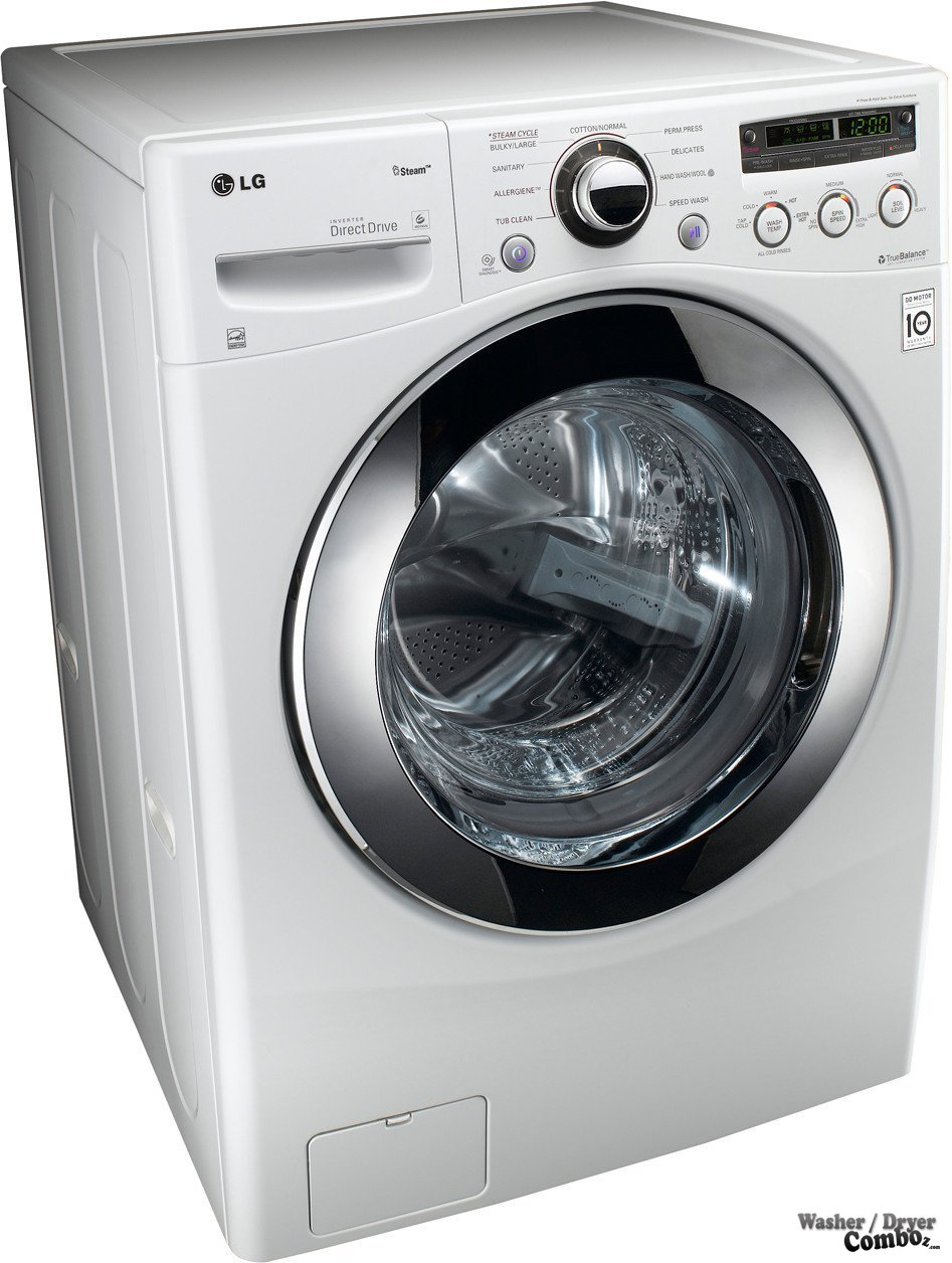 LG WM2650HRA White Front Steam Washer 442 cu ft