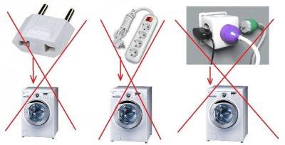 Çamaşır makinesini ağa bağlayın