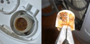 Giriş valfi filtresini temizlemeniz gerekiyor