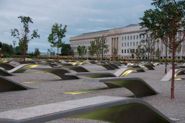 Visiting National 9 11 Pentagon Memorial
