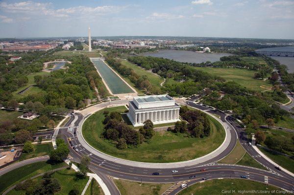 Washington DC Aerial View
