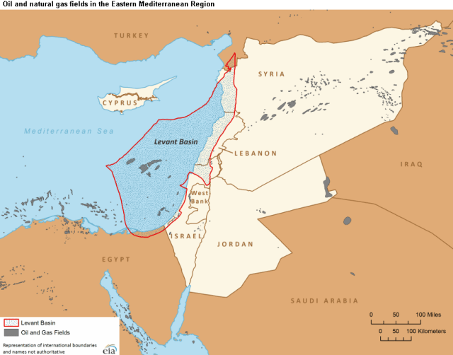 The Levant Basin,is a major new oil and natural gas field that is opening in the next year for drilling.