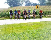 Sunday bike ride from Bennington to the fairgrounds