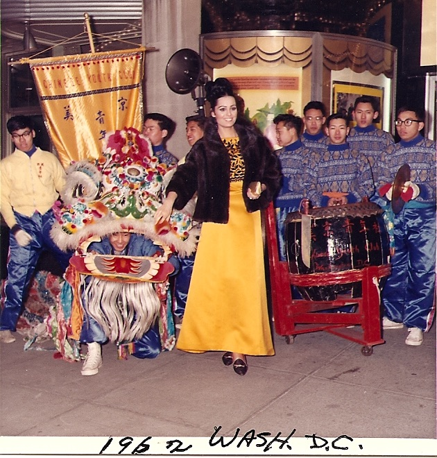 1962 lion dance team