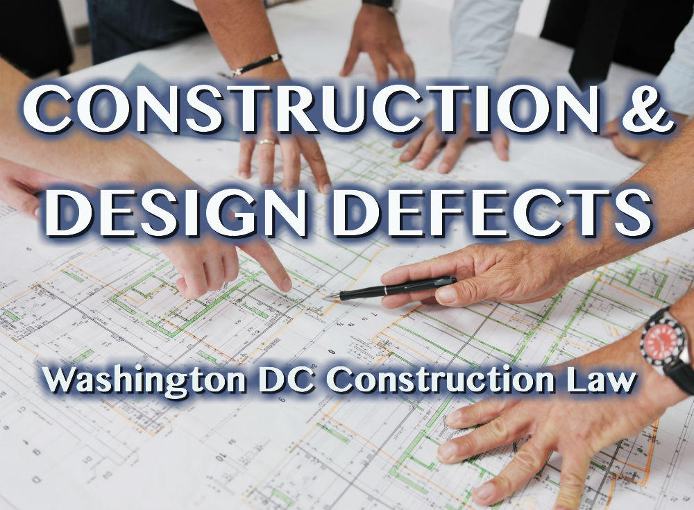 Washington DC Construction Defect Attorneys