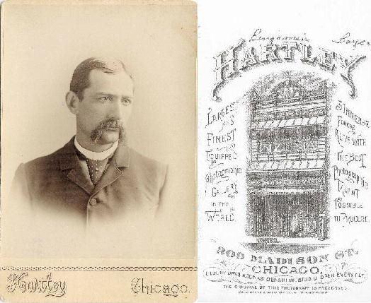 Benjamin Boyce, taken at professional photography studio (Hartley) in Chicago, Illinois