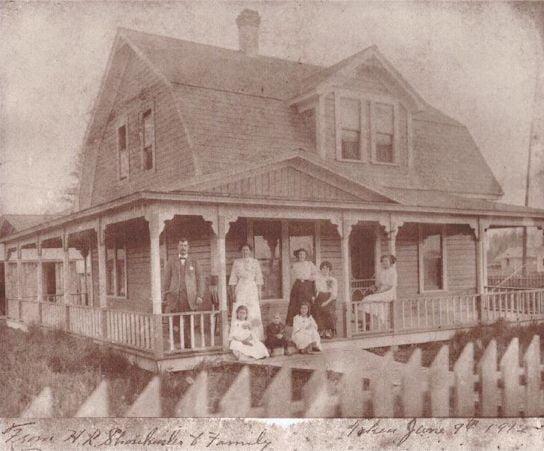 Howard L. Shonkwiler home in Deer Park
