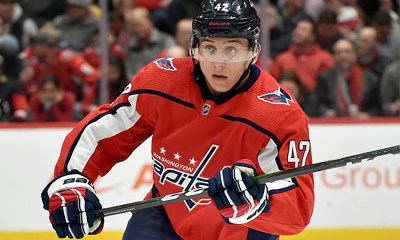 The Washington Capitals expect Martin Fehervary to make the NHL jump in 2021-22