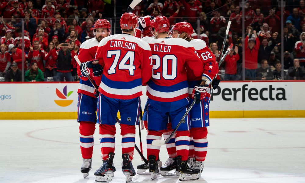 The Capitals are looking to start the year on the right foot.
