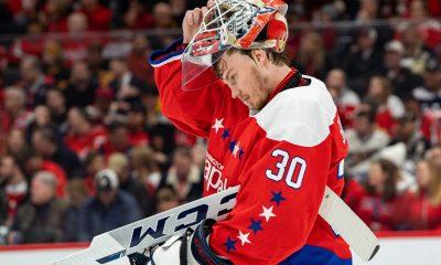 Ilya Samsonov inked a one-year extension with Washington on Monday.