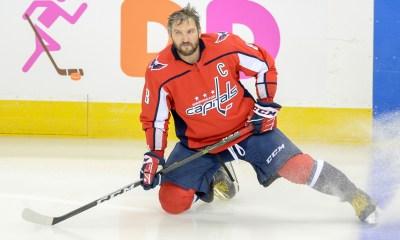 Washington Capitals captain Alex Ovechkin.
