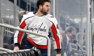 Capitals forward Tom Wilson wants to move on after the Rangers incident.